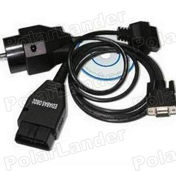 100% первоначально OBD2 адаптер интерфейс для BMW Ediabas инпа OBD2 диагностический кабель и 20 контакт. OBD 2 блока бесплатная доставка