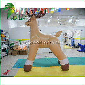 Perfect Shaped Inflatable Elk For Christmas Decoration