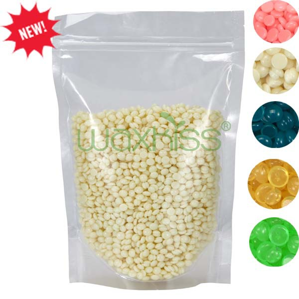 Waxkiss Depilatory Pearl Wax Granules Hot Film Wax Bead For Hair