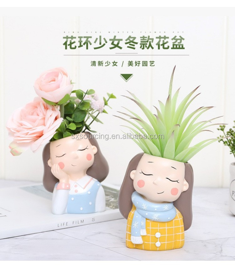 1 piece Plant Pot 2019 new creative small flower pots planter succulent cactus bonsai flowerpot Valentine's Day gift for her-YXYT made (8)