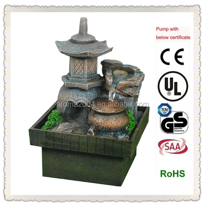 Small Water Fountain Pagoda Home Decoration Items - Buy Home