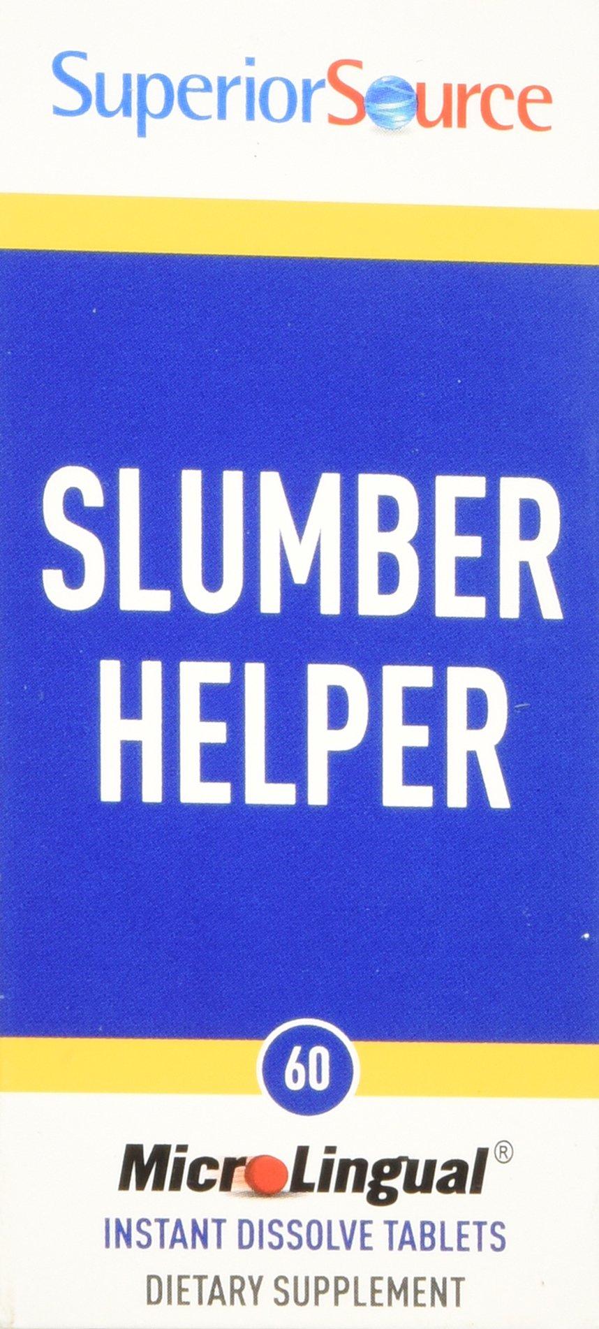Superior Source Slumber Helper Nutritional Supplements, 60 Count
