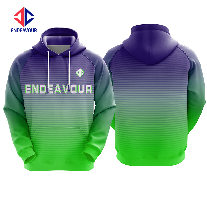 Fully Sublimation coole benutzerdefinierte Mann Hoodies