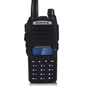 Amateur Portable Long Range Handheld Walkie Talkie uv 82 8W 128 Channels VHF UHF Radio Dual Band Baofeng uv-82