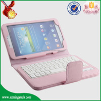 China Factory 8inch Flip PU leather tablet keyboard case for samsung T310