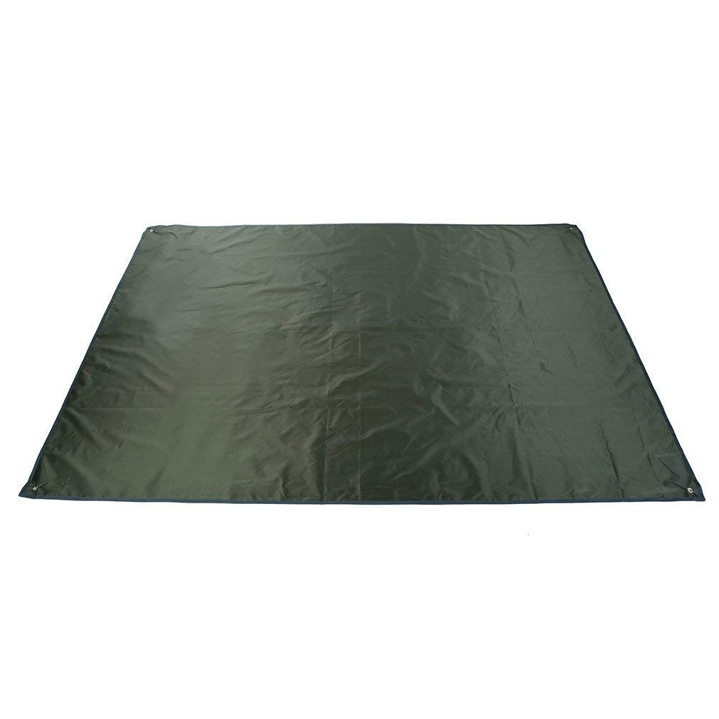 Jiobapiongxin OUTAD Portable Waterproof Camping Tarp for Picnics Tent Footprint and Sunshade