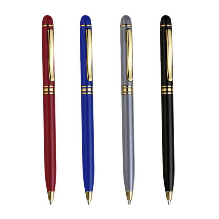 Reliabo Best Selling Wholesale Cheap Multicolor Fine Metal Twist Ball Pen China