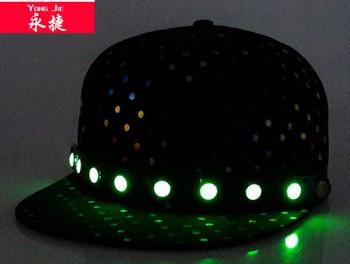 2b08f341994 unique style night light snap back fashion wholesale led snapback cap