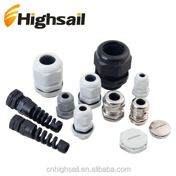 18 mm polyamide noir 13 mm nylon PG21 Presse-étoupe