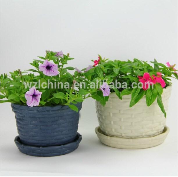 Las macetas de pl stico jard n de macetas de plantas for Macetas pequenas