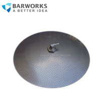 "False Bottom 304 Stainless Steel ,Diameter 30.5cm / 12'' with 3/8"" barb fitting and 1/2"" lock Fitting Grain brewing Accessories"