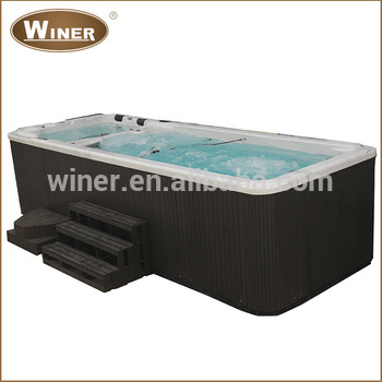 5810mm acrylic freestanding whirlpool container swimming pool hot ...