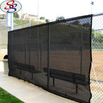 Por Black 60 Shade Rate Privacy Screen Fence Sun Net