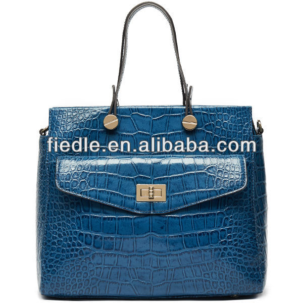 Fashion pretty manufacture lady leather handbags thailand