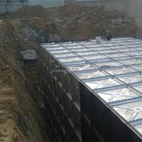 Underground rainwater harvesting storage tank