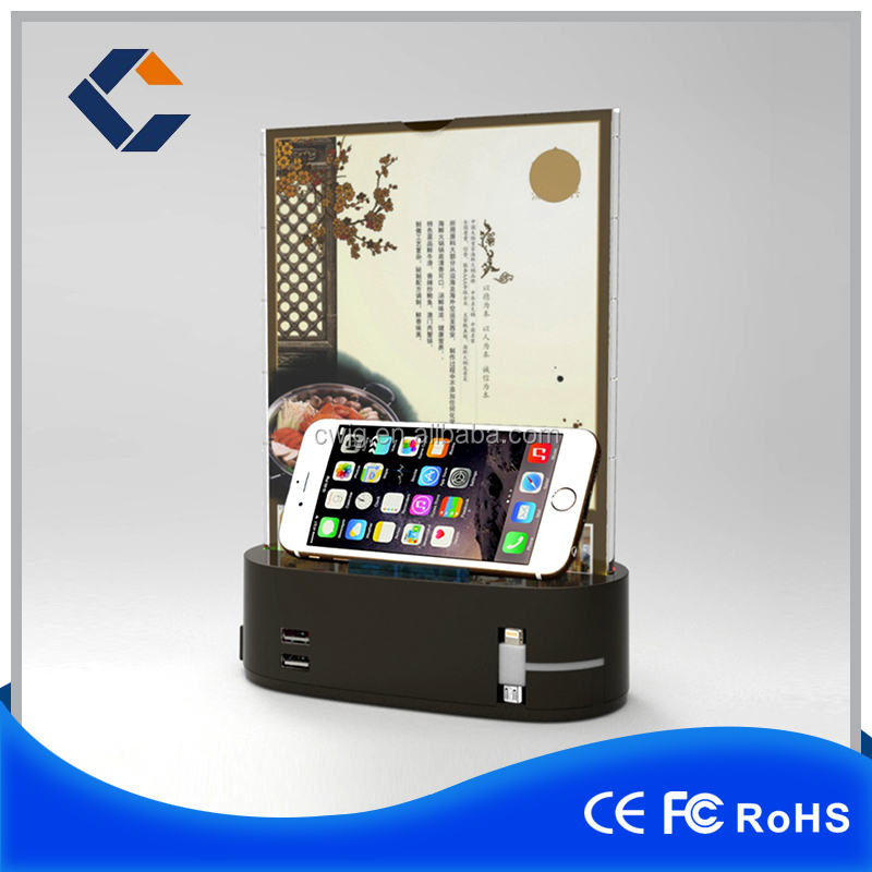 Newest Style Table Advertisement Menu Standby Mobile Phone Holder ...