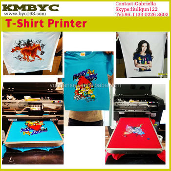 t shirt ink printing machine