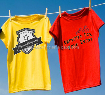 Custom Printed Business Wear Company Advertise T Shirts Design Your Own Tee Shirt