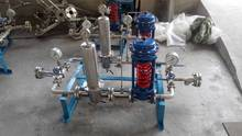 pressure reducing valves for high pressure liquid nitrogen gas