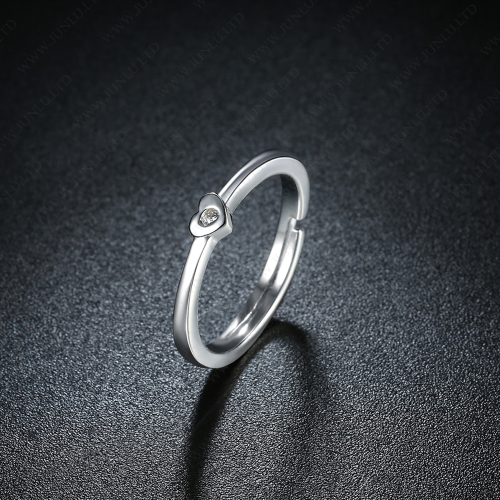 a08234e424 Simple Designs Couple Rings Engagement 925 Italian Silver Ring - Buy ...