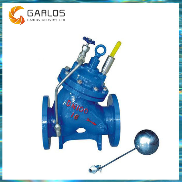 F745X Remote float ball water level control valve