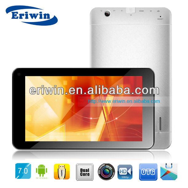 ZX-MD7025 high quality 7 inch capacitive touch screen VIA8880 dual core Android4.2 HDMI output tablet pc factory
