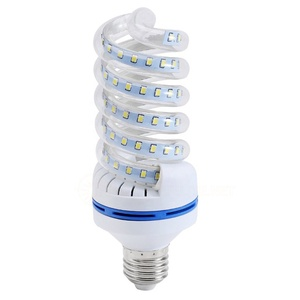 cfl light 9w 12w 16w 24w 30w 36w 40w 50w esl full t4 energy saving lamps half40w spiral led corn bulb