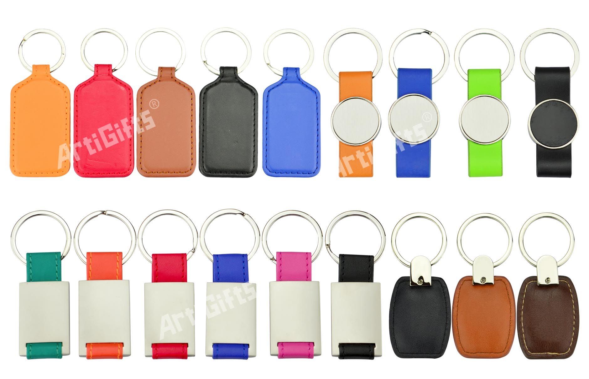 Made in china factory wholesale custom mascot trinket keychain ring