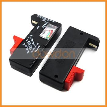 Digital Power Capacity Battery Tester for AA AAA C D 9V 1.5V Button Cell