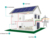 Top selling solar system home 5kw 5000w 5000 watt solar power system home