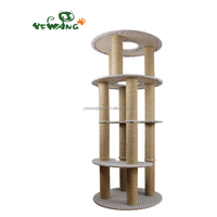 The eco-friendly cats furniture of cat tree condo post for cat scratch