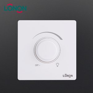 New & Original 2 Line PC Plate 100W lighting fan dimmer wall switch