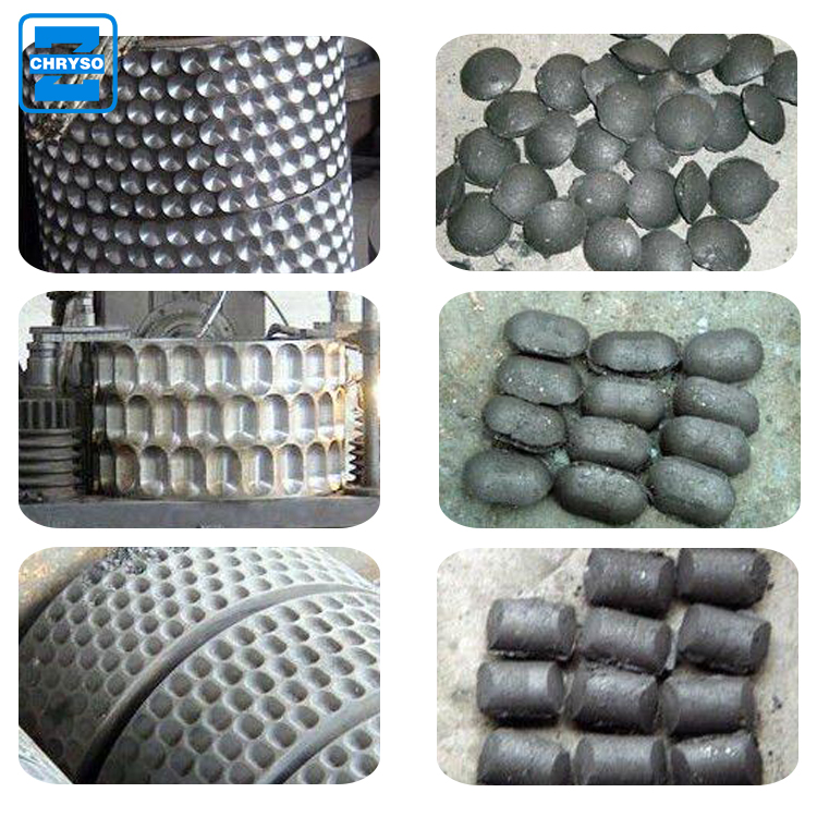 Coal powder briquette making machine / ball press from Zhengzhou chryso  Henan