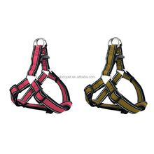 New innovative pet products reflective stitching air mesh dog harness with OEM Logo Design Available Medium Maroon