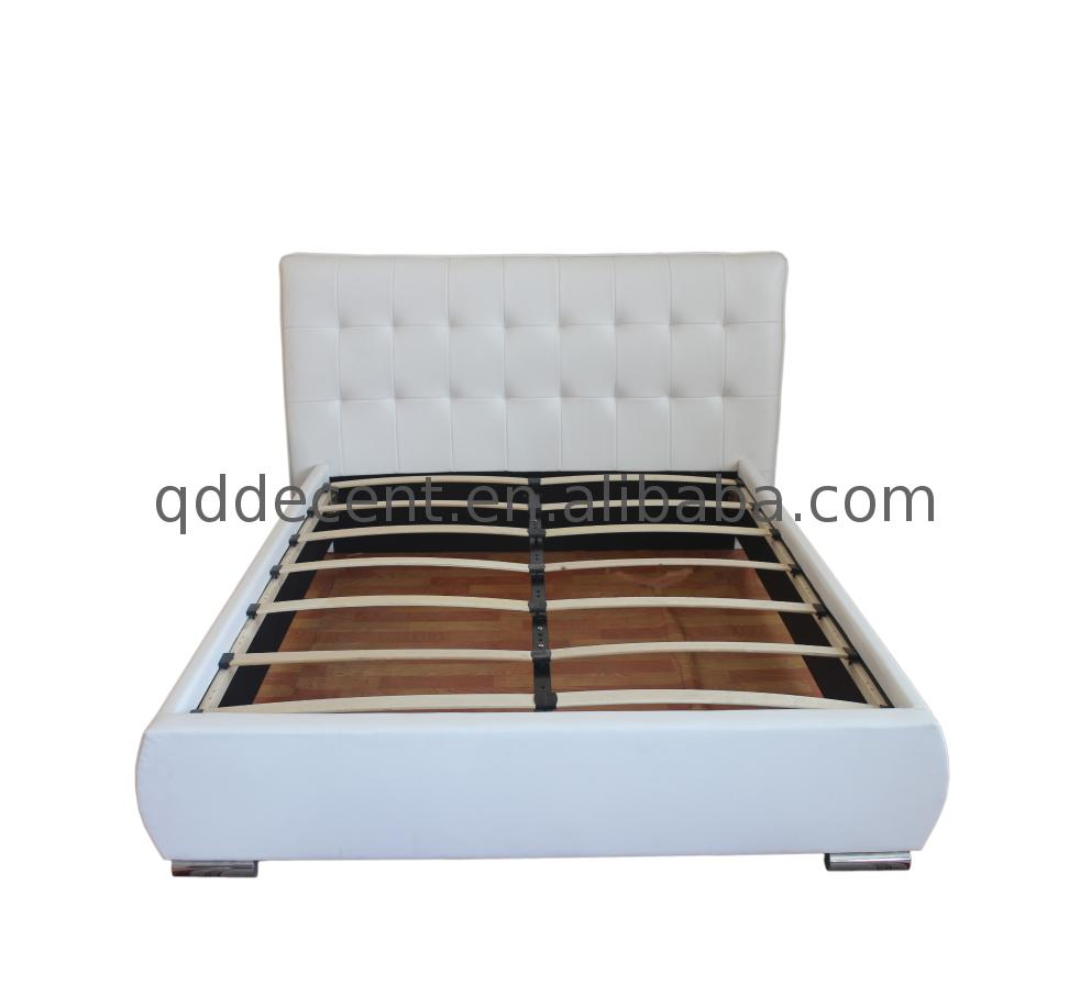 Factory supply latest design faux leather bed with cheap price