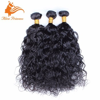 Wholesale Hair Bundles Water Wave Style Different Types Of Curly Weave Hair  Weft Virgin Peruvian Hair c622056959