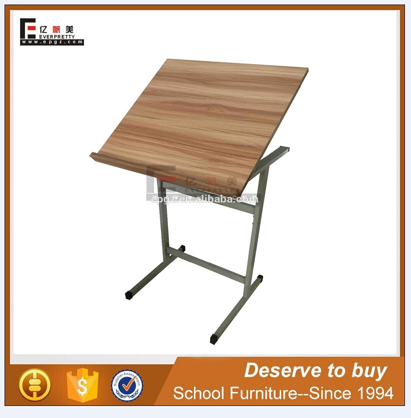Cheap Folding Drafting Table Adjustable Architecture Drawing Tables