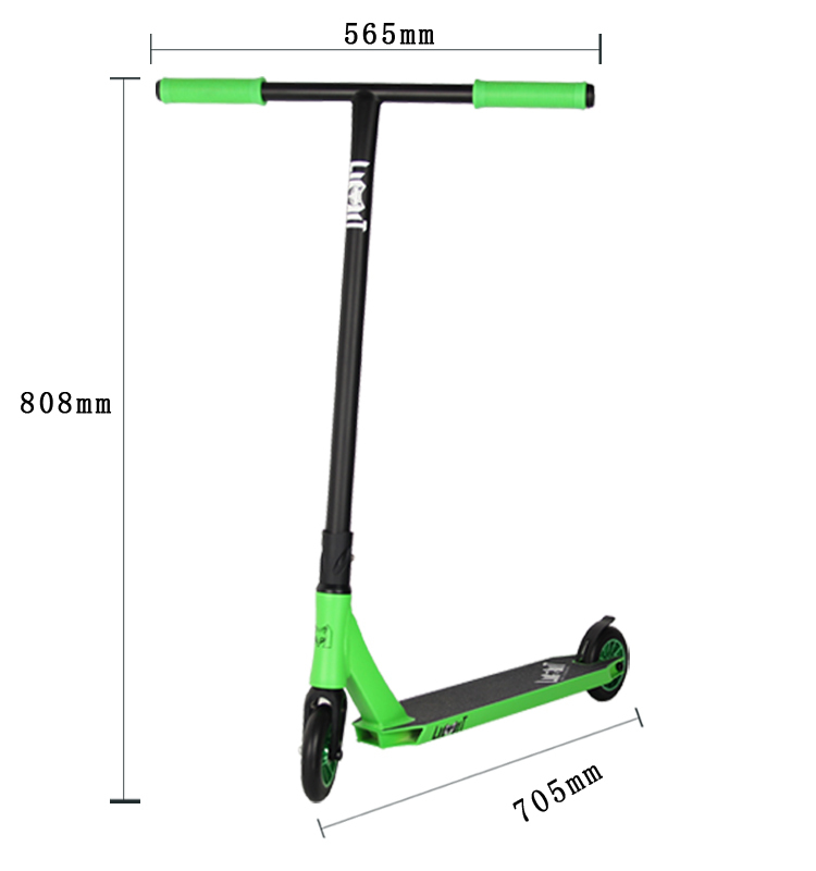 Cool Bmx Bike Freestyle 360 Head Adult Pro Scooter Stunt Scooter