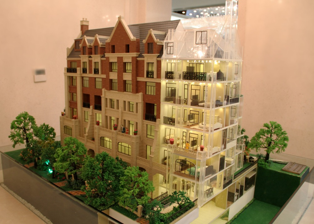 Villa Architectural Scale Model Making Service With The Interior Detail Design