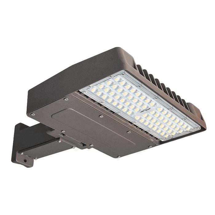 LED Shoebox Fixture 150W 300W Replace 400W 1500W Metal Halide Parking Lot Light