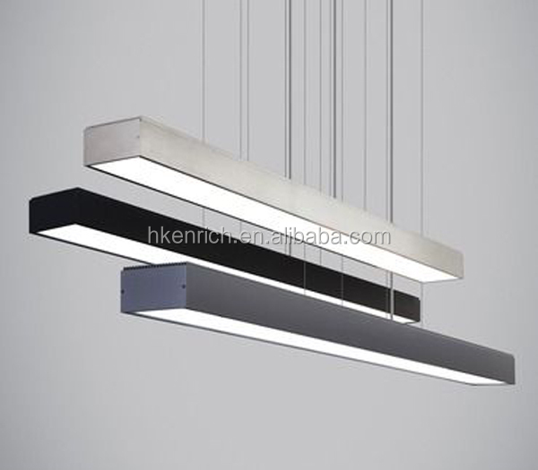 2017 new design suspended led linear light for warehouse