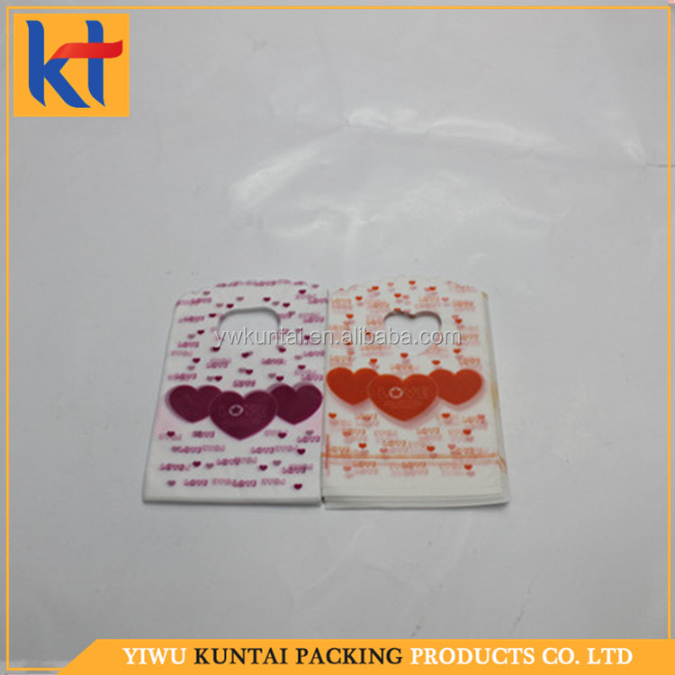 China factory cheap price fashion beautiful jewelly colorful packing pe bag.pe hd plastic bags