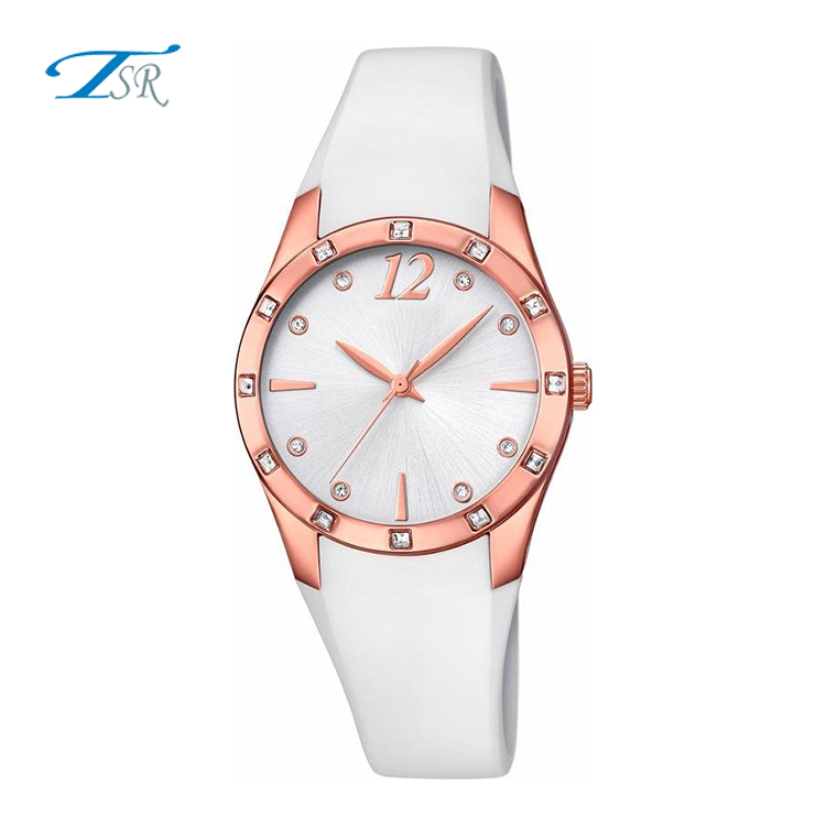 2017 Japan movt watches customized wrist watches date display cheap designer watches for women