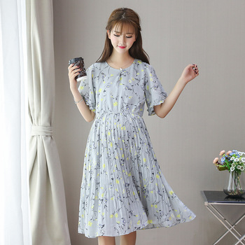 38d8d118dc9 maternity dresses summer Korean fashion office maternity dress for pregnant  women