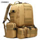 CYSHMILY Large Capacity Rucksack Multifunctional Combination Backpack Travel Bag