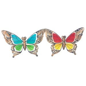 metal butterfly art craft home decoration wall hangings