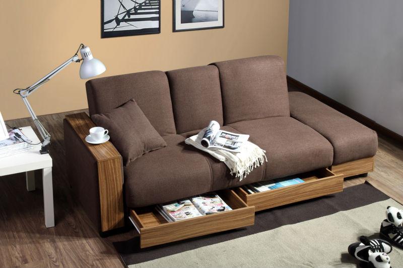 Moderno sofa cama sof cama sof barato de estilo japonsCamas