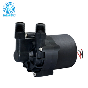 Mini 12v 24v Hot Warmer Circulation Boiler Pump With Head 8m Flow 13LPM