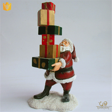 ED12497A Wholesale Christmas Ornament Suppliers Santa Claus Figurines Christmas Ornament