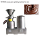 NEWEEK split stainless steel tahini processing cashew nuts cocoa paste grinding machine for sale